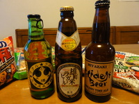 ご当地ビール(瓶)